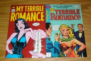 My Terrible Romance #1-2 VF/NM complete series - nec comics - signed by editor