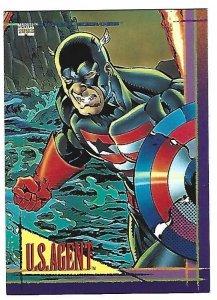 1993 Marvel Universe #72 U.S. Agent
