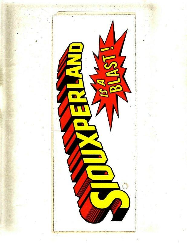 Siouxperland Is A Blast! DC Comics Replica Decal JL22