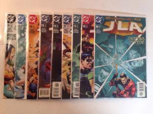 Justice League Of America JLA 68 69 70 71 72 73 74 75 76 Near Mint Lot Set Run