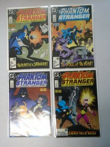 Phantom Stranger set #1-4 signed by Mike Mignola 8.0 VF (1987 Limited Series)