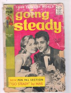 Going Steady Vol. # 3 # 4 Headline Silver Age Comic Book 1960 Sal Mineo JH2