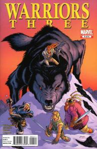 Warriors Three #4 VF/NM; Marvel   save on shipping - details inside