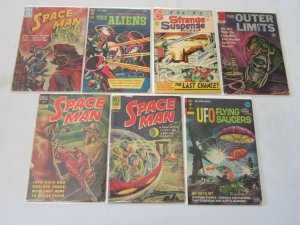 Silver Age Space and Sci-Fi Comic Lot 4.0 VG 7 Different Books