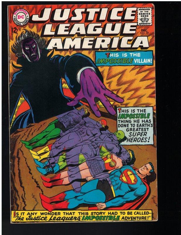 Justice League of America #59 (1967)