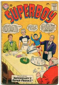 Superboy #112 1964- DC Silver Age- Superbaby cover VG