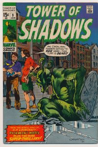 Tower of Shadows (1969) #9 FN+ Last issue in the series
