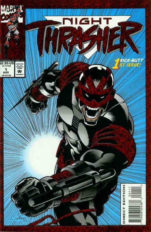NIGHT THRASHER (1993) 1-4  BEAUTIFUL UNCIRCU