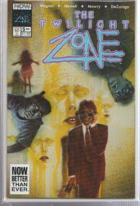 THE TWILIGHT ZONE VOL.#2, ISSUE #5 - NOW COMICS - BAGGED,& BOARDED