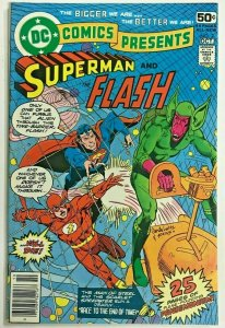 DC COMICS PRESENTS#2 VF 1978 THE FLASH DC BRONZE AGE COMICS