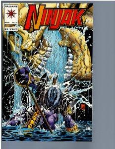 Ninjak #2 (1994) NM