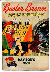 Buster Brown Out Of This World 1959-ACG-Buster Brown Shoespremium-sci-fi -G