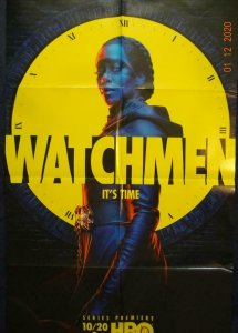 WATCHMEN Promo Poster, 22 x 34, 2019,  Unused more in our store 436