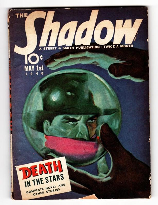 SHADOW 1940 May 1-STREET AND SMITH Pulp Magazine