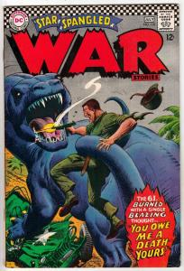 Star Spangled War Stories #133 (Jul-67) FN/VF Mid-High-Grade Dinosaur
