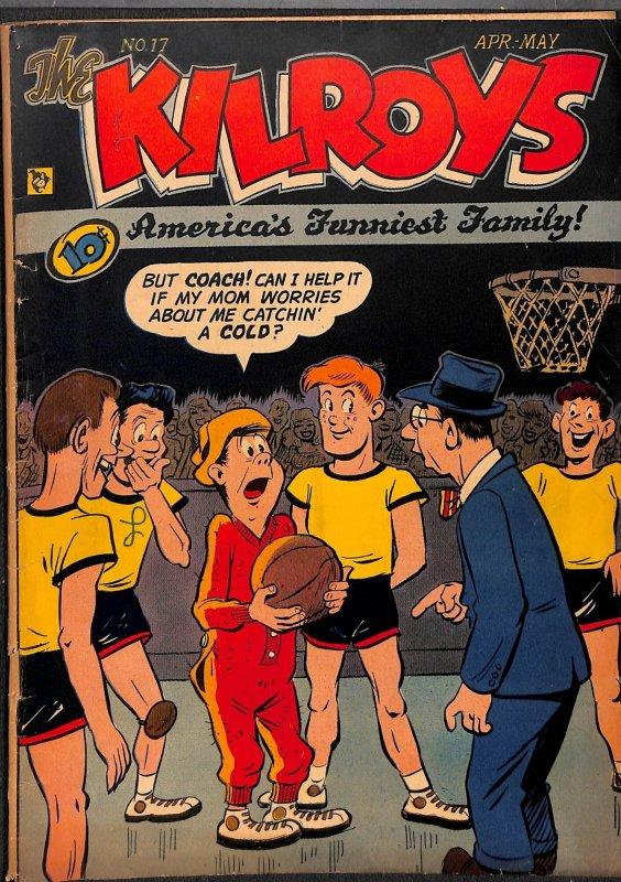 The Kilroys #17 VG/FN 5.0