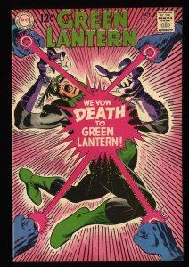 Green Lantern #64 FN/VF 7.0 Hector Hammond! DC Comics