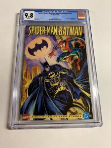 Spider-man Batman Disordered Minds 1 NN Cgc 9.8 White Pages Marvel Dc
