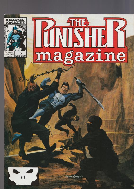 Punisher Magazine #5
