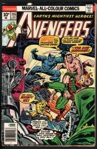 AVENGERS #155-THOR-IRON MAN-1976-MARVEL-PENCE VARIANT