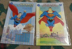 SUPERMAN - FOR ALL SEASONS GRAPHIC NOVEL # BOOK ONE +TWO  SMALLVILLE CLARK LANA