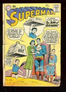 SUPERMAN #140 1960-DC COMIC-SON OF BIZARRO-3 PART NOVEL FR