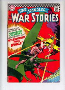 Star Spangled War Stories #129 (Nov-66) VG Affordable-Grade Dinosaur