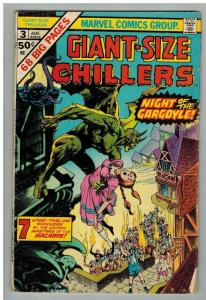 GIANT SIZE CHILLERS 3 G Aug. 1975 Wrightson
