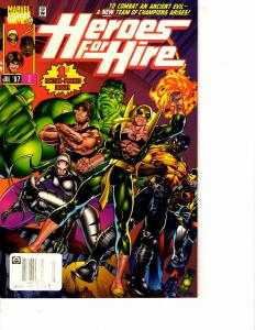Lot Of 2 Marvel Comics Hellstorm Prince of Lies #1 and Heroes for HIre #1 JB4