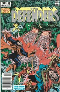 Marvel Comics Group! The Defenders #98!
