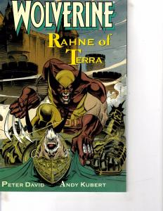 Lot Of 2 Comic Books Marvel Wolverine Rahne Terra and Mighty Avengers #11 MS9