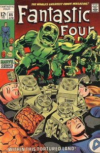 Fantastic Four #85 (ungraded) stock photo / SCM