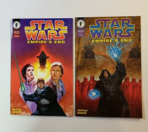 Star Wars Empire's End #1-2 Complete Set #1 FN/VF #2 NM Dark Horse 1995