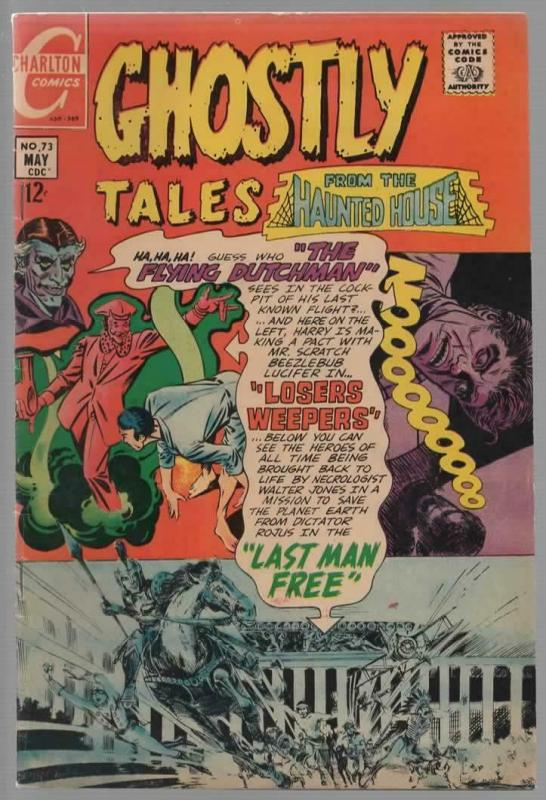 GHOSTLY TALES  73 VG-F  May 1979