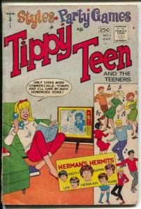 Tippy Teen #3 1966-Tower-Herman's Hermits issue-Giant edition-G