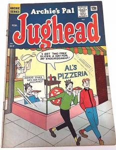 ARCHIE'S PAL JUGHEAD#117 VG  1965 ARCHIE SILVER AGE COMICS