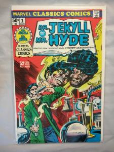 1976 Marvel Classics Comics, Dr. Jekyll And Mr. Hyde, #1 Fine, January