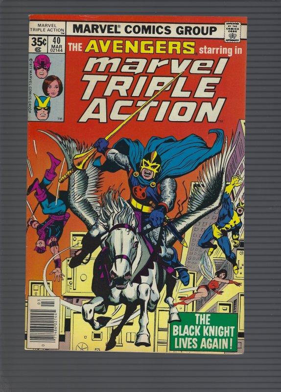 Marvel Triple Action #40 (1978)