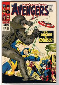 AVENGERS 37, VF/NM, Captain America, Wasp,Don Heck,1963, more in store