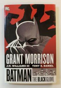 BATMAN: THE BLACK GLOVE HARD COVER FIRST PRINT GRANT MORRISON VF/NM