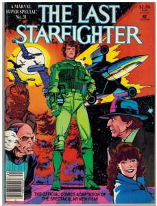 MARVEL SUPER SPECIAL 31 VG-F LAST STARFIGHTER ADAPTED