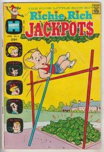 Richie Rich Jackpots #4 (Apr-73) VG Affordable-Grade Richie Rich