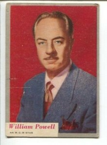 Who-Z-At Star? Lot Of Movie Star Trading Cards 1953-Topps-lot of 19