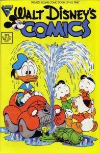 Walt Disney's Comics and Stories #532, VF+ (Stock photo)