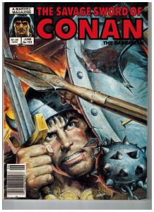 The Savage Sword Of Conan The Barbarian # 113 NM Marvel Magazine Sonja Kull S76
