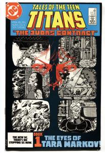Tales Of The Teen Titans #42 1984- Judas Contract NM-