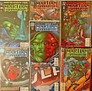 MARTIAN MANHUNTER (DC) 1998 ISSUES #1,2,6,7,8,12,13 ALL NM CONDITION