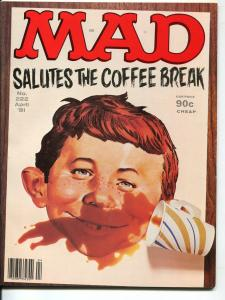 Mad-Magazine-#222-April-1981-Mort Drucker-Don Martin-David Berg