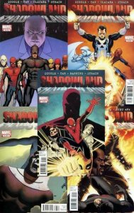 SHADOWLAND (2010) 1-5  Daredevil, IronFist, Punisher