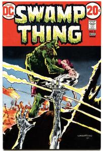 SWAMP THING #3-DC--1973--FIRST PATCHWORK MAN-ORIGINAL OWNER COPY-NM-